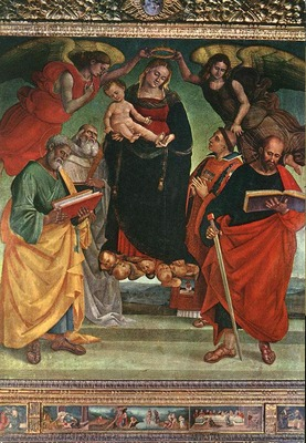 SIGNORELLI Luca Madonna And Child With Saints