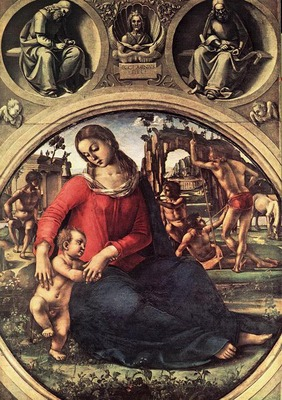 SIGNORELLI Luca Madonna And Child