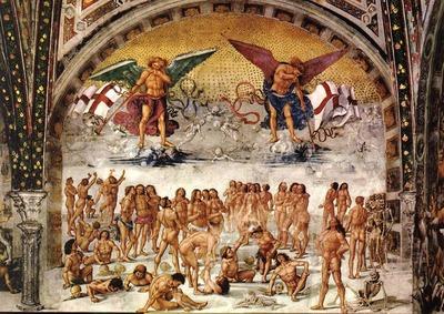 SIGNORELLI Luca Resurrection Of The Flesh
