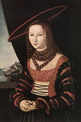 CRANACH Lucas the Elder Portrait Of A Woman