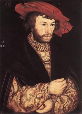 CRANACH Lucas the Elder Portrait Of A Young Man