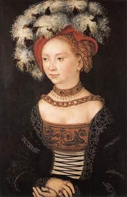 CRANACH Lucas the Elder Portrait Of A Young Woman