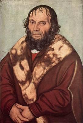 CRANACH Lucas the Elder Portrait Of Dr J Scheyring