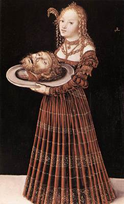 CRANACH Lucas the Elder Salome With Head Of St John The Baptist