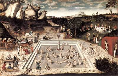 CRANACH Lucas the Elder The Fountain Of Youth