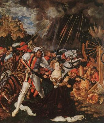 CRANACH Lucas the Elder The Martyrdom Of St Catherine