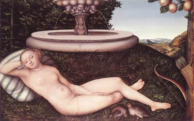 CRANACH Lucas the Elder The Nymph Of The Fountain