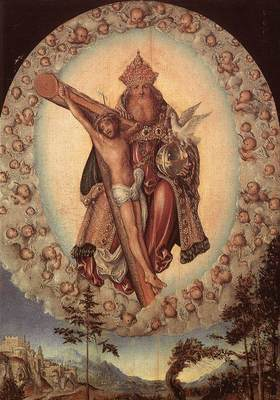 CRANACH Lucas the Elder Trinity
