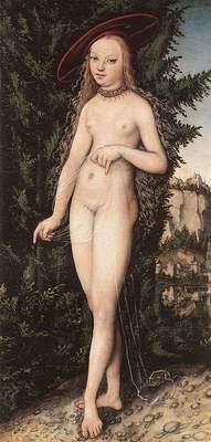 CRANACH Lucas the Elder Venus Standing In A Landscape