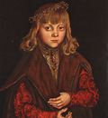 CRANACH Lucas the Elder A Prince Of Saxony