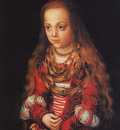 CRANACH Lucas the Elder A Princess Of Saxony