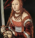 CRANACH Lucas the Elder Judith With Head Of Holofernes