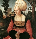 CRANACH Lucas the Elder Portrait Of Anna Cuspinian