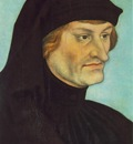 CRANACH Lucas the Elder Portrait Of Johannes Geiler Von Kaysersberg