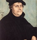 CRANACH Lucas the Elder Portrait Of Martin Luther