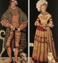 CRANACH Lucas the Elder Portraits Of Henry The Pious
