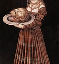 CRANACH Lucas the Elder Salome With Head Of St John The Baptist