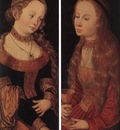 CRANACH Lucas the Elder St Catherine Of Alexandria And St Barbara