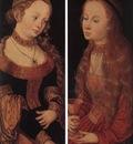 CRANACH Lucas the Elder St Catherine Of Alexandria And St Barbara