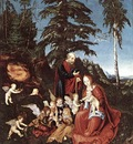 CRANACH Lucas the Elder The Rest On The Flight Into Egypt