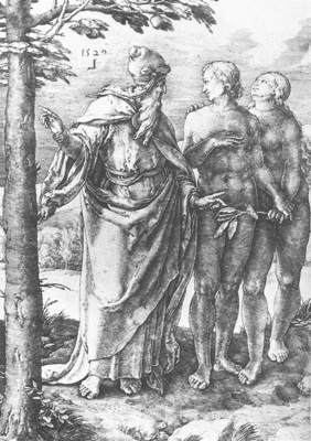 Adam and Eve Expulsion from the Paradise WGA