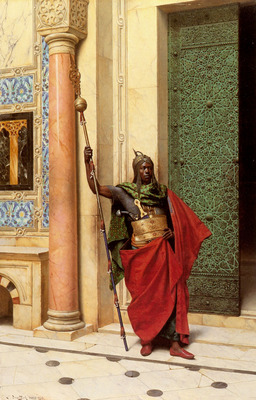 Deutsch Ludwig A Nubian Guard