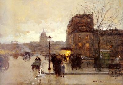 Loir Luigi Boulevard Henri IV Crepuscule