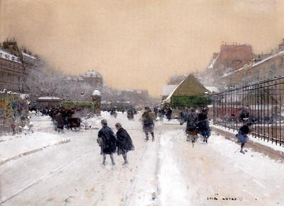 Loir Luigi Paris Sous La Neige