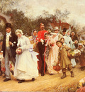 Fildes Sir Luke The Wedding