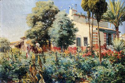 Rodriguez Manuel Garcia Y A Mediterranean Village