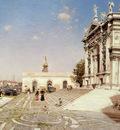 Ortega Martin Rico y A View Of Santa Maria Della Salute Venice