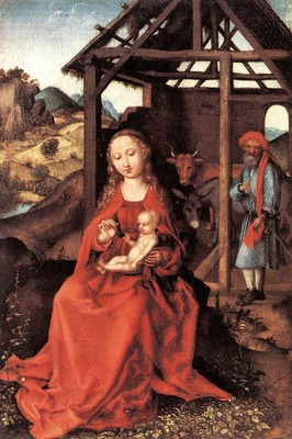 schongauer martin the holy family
