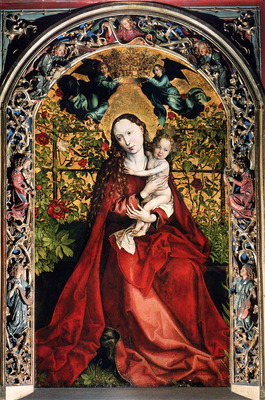 Schongauer Martin Madonna Of The Rose Bower