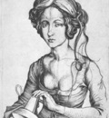 SCHONGAUER Martin A Foolish Virgin