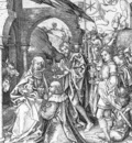 SCHONGAUER Martin Adoration Of The Magi