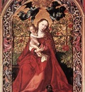 schongauer martin madonna of the rose bush
