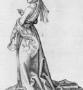 SCHONGAUER Martin The First Foolish Virgin