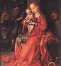schongauer martin the holy family 1475