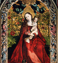 Schongauer Martin Madonna Of The Rose Bower