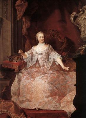 MEYTENS Martin van Empress Maria Theresa