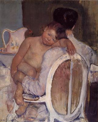 Cassatt Mary Mother Holding a Child in Her Arms
