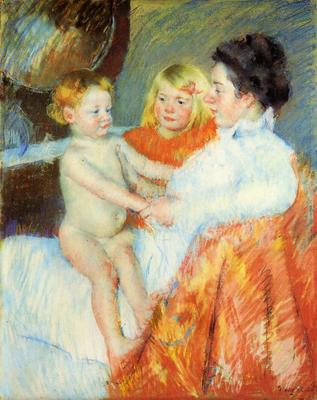 Cassatt Mary Mother Sara and the Baby