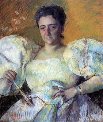 Cassatt Mary Portrait of Mrs  H  O  Hevemeyer