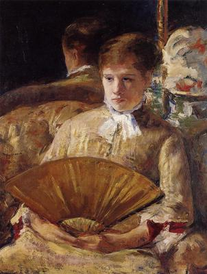 Cassatt Mary Portrait of a Lady aka Miss Mary Ellison