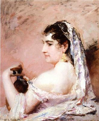 Cassatt Mary Roman Girl