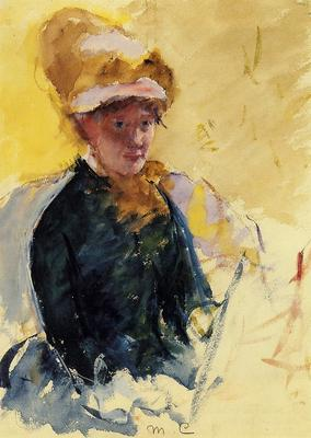 Cassatt Mary Self Portrait