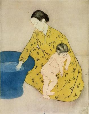 Cassatt Mary The Child s Bath2