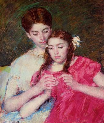 Cassatt Mary The Chrochet Lesson