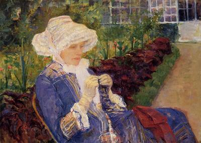Cassatt Mary The Garden