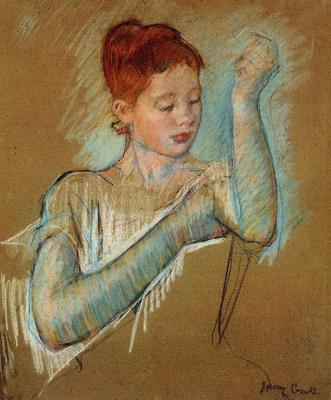 Cassatt Mary The Long Gloves